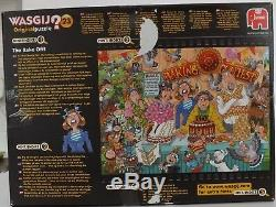 Jumbo Wasgij Original No. 23 The Bake Off! 1000 Piece Jigsaw Puzzle Used
