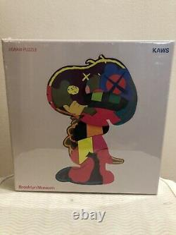 KAWS Brooklyn Museum Puzzle Set Ankle Bracelet & Isolation Tower Ready Ship