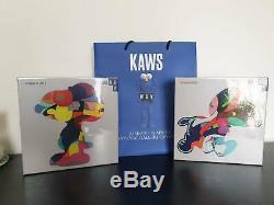KAWS NGV JIGSAW PUZZLE SET Stay Steady & No Ones Home