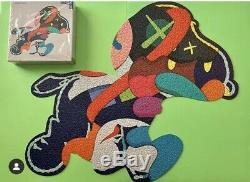KAWS x NGV Puzzle 1000 Jig Saw Puzzle set No One Home And steady