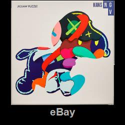 KAWS x NGV Stay Steady & No One's Home Jigsaw puzzle Snoopy Set of 2 NEW
