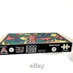 KEITH HARING 1,000 Piece Puzzle PIATNIK Austria NO. 553943 26.5 X 17.4 in