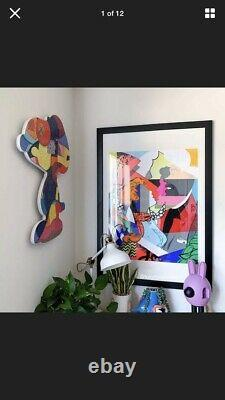 Kaws Stay Steady Puzzle Framed Ready To Hang