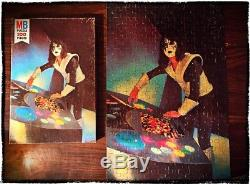 Kiss Ace Frehley Jigsaw Puzzle From 1978 Complete Mego Rare 1980 Aucoin MB