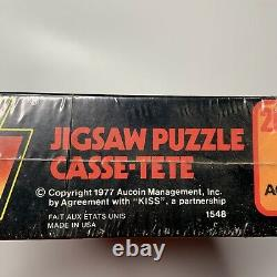 Kiss Destroyer Jigsaw Puzzle From 1977 Complete Mego Rare 1980 Aucoin MB Sealed