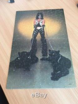 Kiss Peter Criss Jigsaw Puzzle From 1978 Complete Mego Rare 1980 Aucoin MB