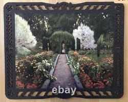 LIBERTY Classic WOODEN PUZZLE Jardin de Aranjuez RETIRED 690pcs 2 Boxes COMPLETE