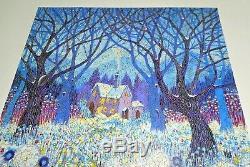 LIBERTY Classic Wooden Jigsaw Puzzle WINTERLANDS David Newton 524 pieecs