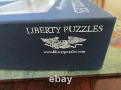 LIBERTY Classic Wooden Puzzle CENTRAL PARK, WINTER 535 Pieces Complete MINT
