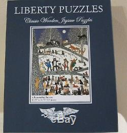 LIBERTY Wooden Jigsaw Puzzle A Resounding Success CATS 513 Pieces