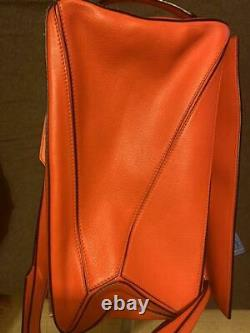 LOEWE Puzzle Bag 2WAY Shoulder Hand Tote Primary Red Near Mint Ex++