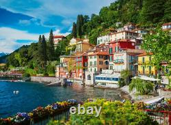 Lake Como 500 Piece Jigsaw Puzzle by Ravensburger NEW FREE SHIPPING