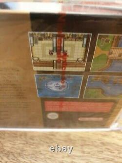 Legend Of Zelda A Link To The Past, SNES, Red Strip Sealed, VGA Graded 95 MINT