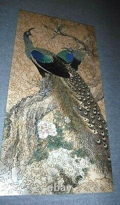 Liberty Classic Wooden Jigsaw Puzzle A Pair of Peacocks in the Spring 308 pcs