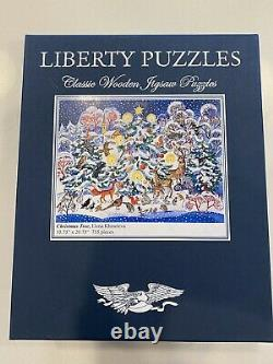 Liberty Classic Wooden Jigsaw Puzzle CHRISTMAS TREE 755 Pieces NEW