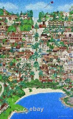 Liberty Classic Wooden Jigsaw Puzzle Carmel by the Sea, 664 High Piece Count