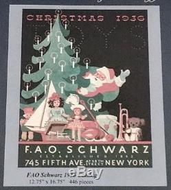 Liberty Classic Wooden Jigsaw Puzzle FAO Schwarz 1936 Catalog 446 pieces RARE
