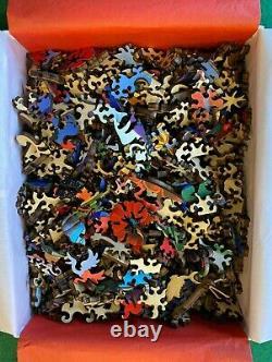 Liberty Classic Wooden Jigsaw Puzzle La Paz, 475 pcs, Artist Raul del Rio