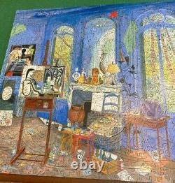 Liberty Classic Wooden Jigsaw Puzzle Picasso's Studio 527pcs ART Damian Elwes