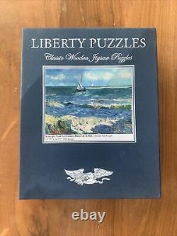 Liberty Classic Wooden Jigsaw Puzzle Seascapes Van Gogh 504 Pieces
