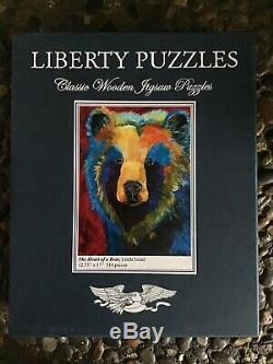 Liberty Classic Wooden Jigsaw Puzzle The Heart of a Bear 514 pieces