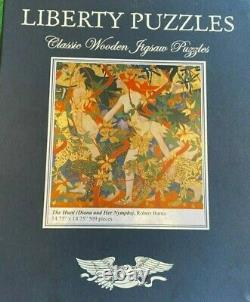 Liberty Classic Wooden Jigsaw Puzzle The Hunt -Diana & Her Nymphs Robert Burns