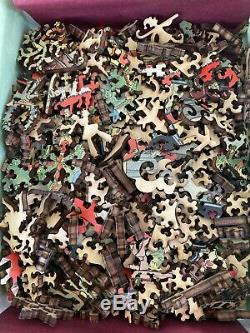 Liberty Classic Wooden Jigsaw Puzzle -The Night before Christmas - 484 pieces