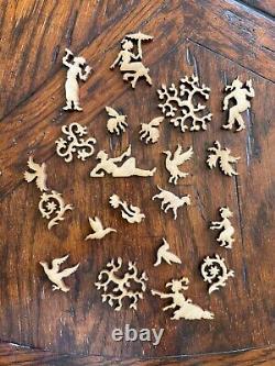 Liberty Classic Wooden Jigsaw Puzzle, The Parc Monceau, Claude Monet