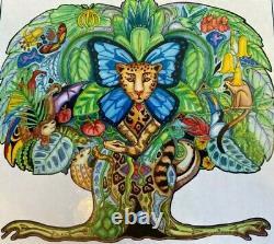 Liberty Classic Wooden Jigsaw Puzzle Tree of Life, Artist Sue Coccia, 539 pcs