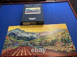 Liberty Classic Wooden Jigsaw Puzzle Vines Amongst the Rockies 526 pieces