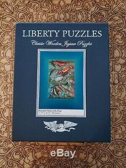 Liberty Classic Wooden Jigsaw Puzzles 605 Beautiful Fishes of the Deep