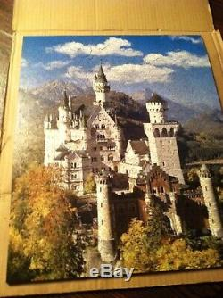 Liberty Classic Wooden Puzzles Castle Neuschwanstein 641 Piece Puzzle Complete
