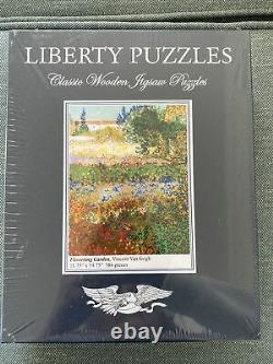 Liberty Classic Wooden Puzzles Flowering Garden Van Gogh Jigsaw NEW Puzzle