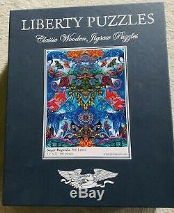 Liberty Classic Wooden Puzzles Sugar Magnolia881 Pieces! Large