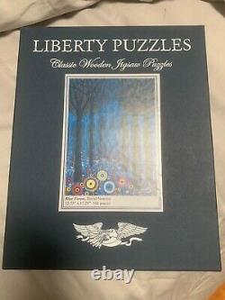 Liberty Classic wooden puzzle. Blue Forest 500 (should be 501) pieces