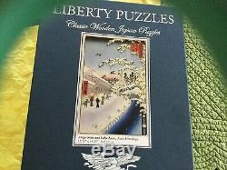 Liberty Classics Wooden Jigsaw Atagoshita and Yabu Lane 564 Pieces Complete