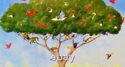 Liberty Classics Wooden Jigsaw Puzzle A Good Tree Can Lodge Ten Thousand Birds