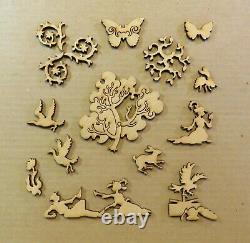 Liberty Classics Wooden Jigsaw Puzzle Parc Monceau by Monet 507 Pieces Complete