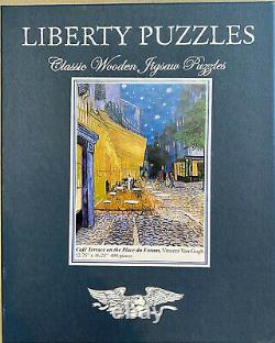 Liberty Classics Wooden Jigsaw Puzzles, Cafe Terrace On The Place Du Forum