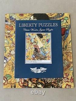 Liberty Classics wooden jigsaw puzzle, Ritratto di Signora Klimt RARE, 445 pcs