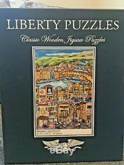 Liberty Classics wooden jigsaw puzzles Florence By Linnea Pergola
