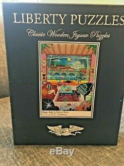 Liberty Classics wooden jigsaw puzzles Rome, Italy By Herbert Hofer