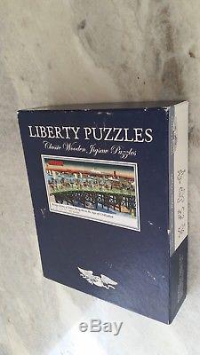 Liberty Jigsaw Puzzle Bridge Scene of Tokyo Ryogoku by Ando Hiroshige COMPLETE