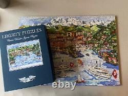 Liberty Jigsaw Wooden Puzzle LUGANO Linnea Pergola 582 Pieces