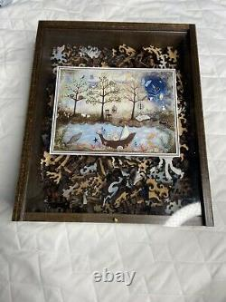 Liberty Puzzle Classic Wooden Puzzle Enchanted Forest 458 Pieces
