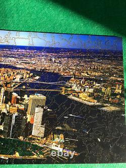 Liberty Puzzle New York City 479 pcs, 75+ figurals Wooden Jigsaw Puzzle
