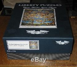 Liberty Puzzles 717 Piece Wooden Puzzle The Last Judgement Michelangelo NICE