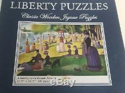 Liberty Puzzles A Sunday on La Grande Jatte Georges 12.75x19.25 549 Pieces