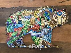 Liberty Puzzles Bear wooden jigsaw puzzle