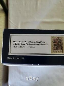 Liberty Puzzles Classic Wooden Jigsaw ALEXANDER THE GREAT 470 pieces RARE